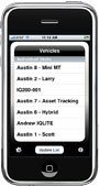iMobile Vehicle List